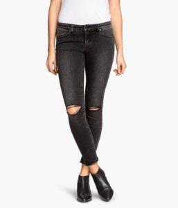 hm destroyed jeans
