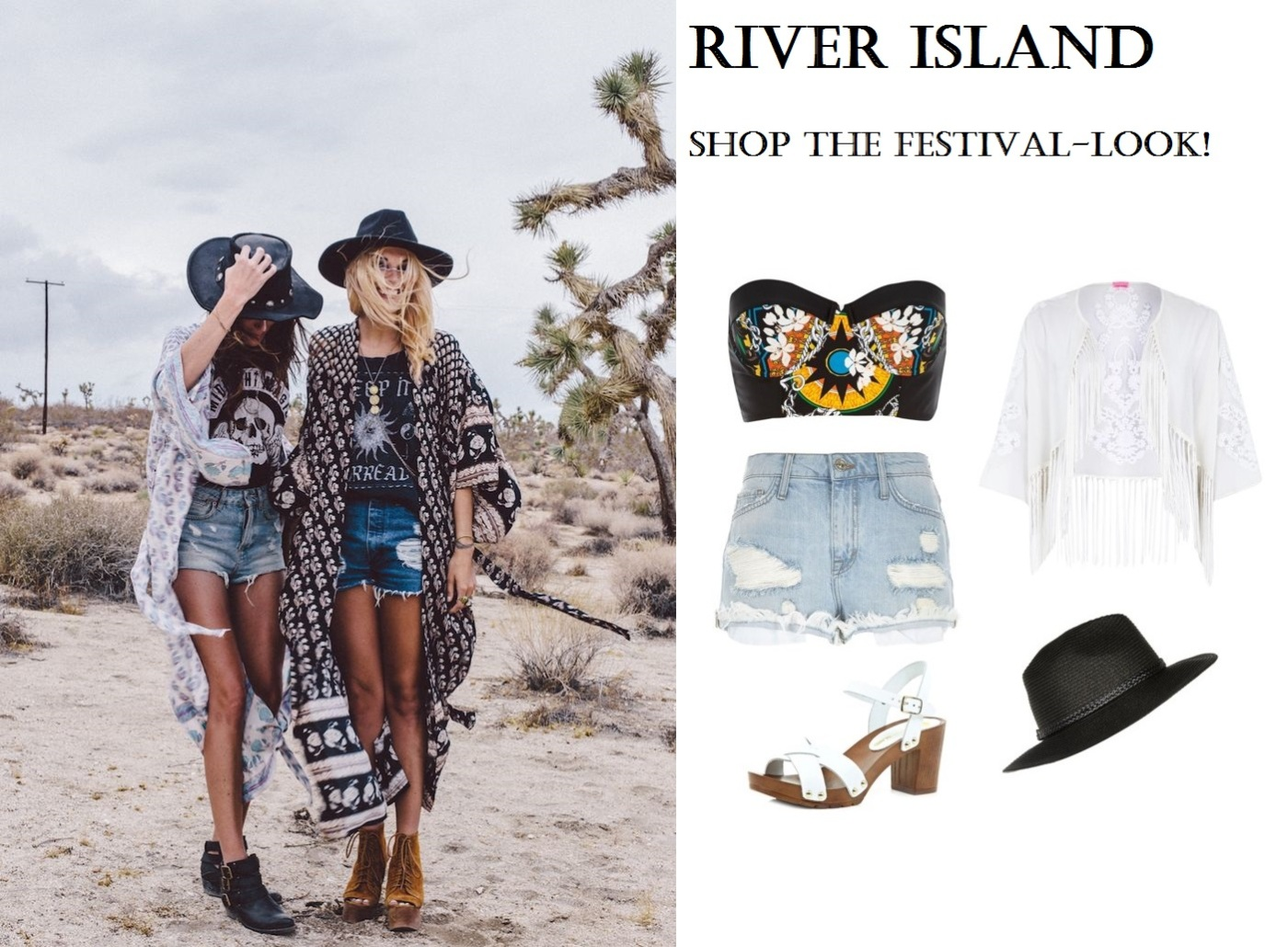 River Island, Festival, Look, Outfit